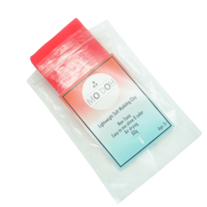 Soft Air Dry Clay 60g(Red)